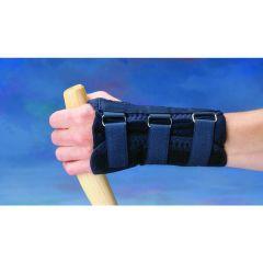 Black D-Ring Wrist Brace Lg/Lt