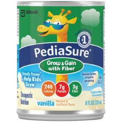 Pediasure W/Fiber Vanilla 8-Oz Can Oral