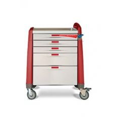 Avalo 5-Drawer Emergency Cart