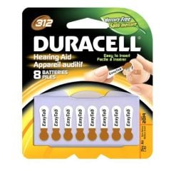 Batteries For Hearing Aid #312H4 8/Pk
