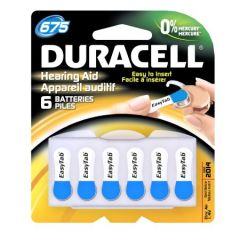 Batteries For Hearing Aid #675 Hpx