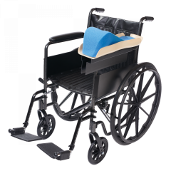 Premier Wheelchair Arm Tray- Right-Elevated