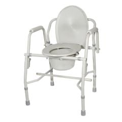 Drop Arm Commode 300 Lb. Cap.