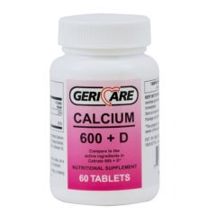 Calcium 600Mg With D3 W/200Iu 60'S