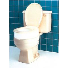 "Raised Toilet Seat, 3.5"", W/O Arms Or Legs, For Elongated Toilet"