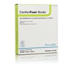 Comfort Foam Bordered Gauze 4X4 10/Bx