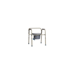 3-In1 Deluxe Folding Commode, 350 Cap.