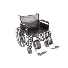 Emerald Max 26X18 Wheelchair, 500Lb.Dual Ht, F/A, Elr