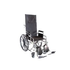 Emerald Recline 22X18 Wheelchair, 300Lb, Full Arms, Elr