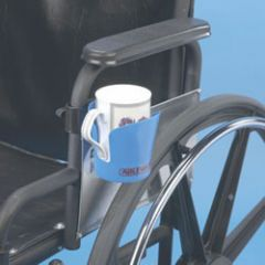 Maddak Wheelchair Cup Holder, Blue (706220001)