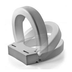 Maddak Inc 72571-1005 Ableware Hinged Elevated Toilet Seat, Elongated