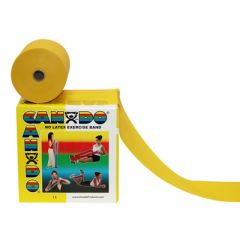 Cando Ex.Band,Latex-Free,50Yd,Yellow
