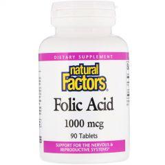 Folic Acid 1Mg (1000Mcg) 90/Bt