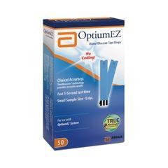 Glucometer Optium Ez Strips 50`S
