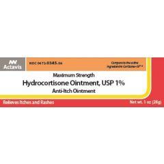 Hydrocortisone Ointment 1% 1Oz