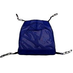 Heavy Duty Full Body Mesh Sling Commode Opening: Without