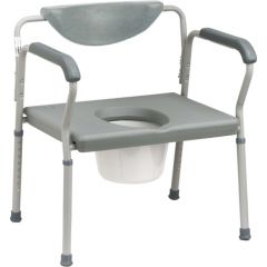 "Commode Bariatric 24"" 500Lb. Capacity"