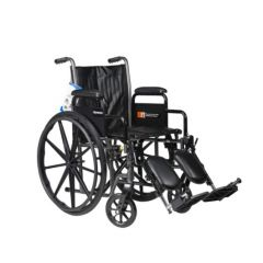 Silver Sport 1 Wheelchair With Full Arms And Swing Away Removable Footrest 1 Pcs Sku# 478375Ma