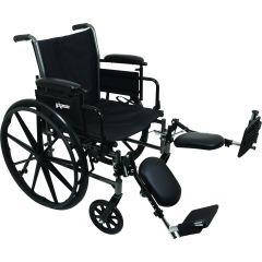 Dual Axle Wheelchair 18X16 Desk Arms, El