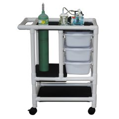 Pvc Emergency Crash Cart