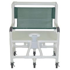 """30""""Pvc Shower/Commode Chair"""