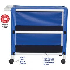 Echo Value Line Mid Size 2 Shelf Cart
