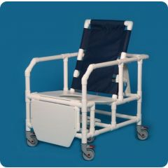 Reclining Shower Chair Mesh Back