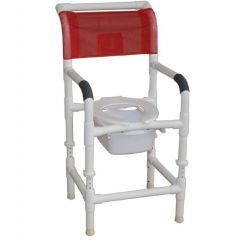 Commode Pail W/ Bracket For Shower Chair