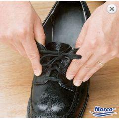 """Shoe Laces Black Tylastic 36"""""""