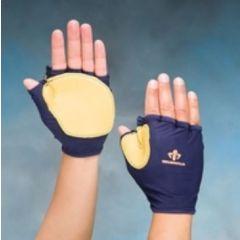 Fingerless Wheel Chair Glove Indicate Size