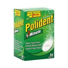 Polident Tabs