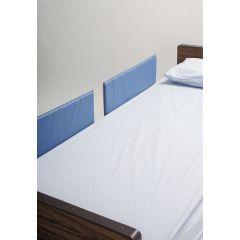 """Vinyl Bed Rail Pads Split Rail (Set Of 4 Pads) 28""""X9""""X1"""""""