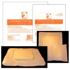Lo Profile Foam Plus 4X4 Adh/Abs 10/Bx