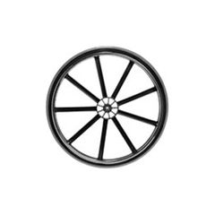 """24""""X1"""" Wheel Assembly F/Invacare"""