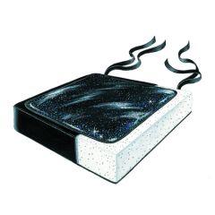 """Gel Foam Cushion - 16"""" X 16"""" X 2.5"""""""