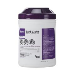 Sani-Super Wipe 6X6.75 (Purple)165 (55172)
