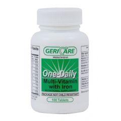 Vitamin Multi W/Iron 100'S
