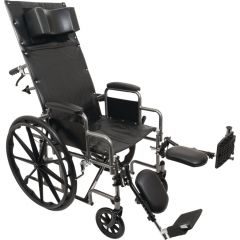 Reclining Wheelchair 20X17 W/Elr, Desk A