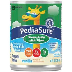 Pediasure W/Fiber Vanilla 8-Oz Can Oral