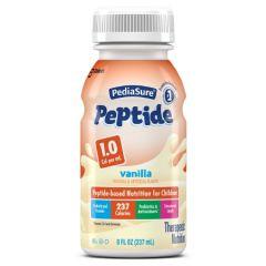 ** New ( A67407)***Pediasure Peptide 8-Oz Bottle Vanil