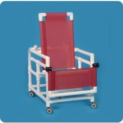 """Bariatric Shower Chair Commode 400Lb. 24"""""""