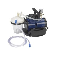 """Suction Machine - Includes 800 cc suction canister, 6' suction tube, 10"""" suction canister tubing, hydrophobic filter, pl"""